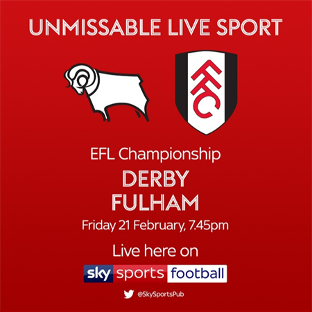 Derby County V Fulham